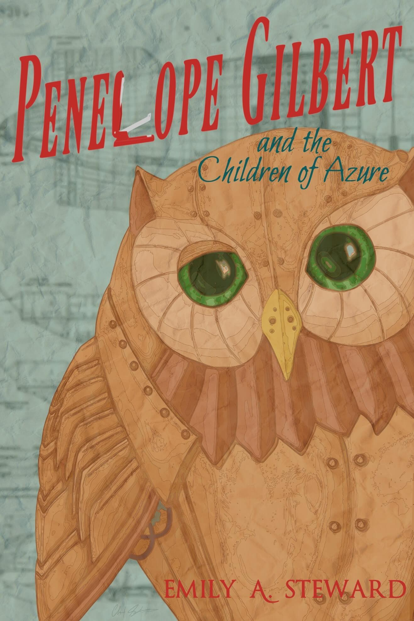 Penelope Gilbert book cover, owl