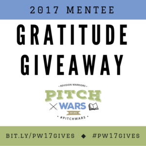 Pitch Wars gratitude giveaway